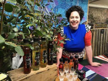 Bushfood advocate Brigid Corcoran in her shop